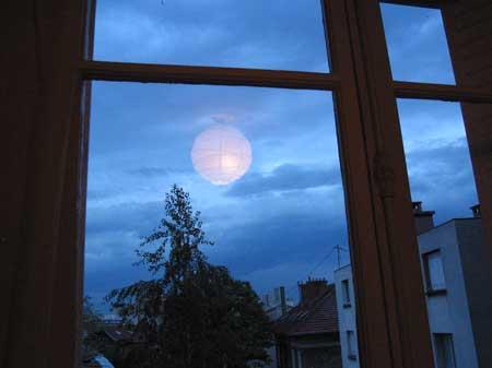 La lune ?