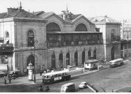gare Montparnasse, 1965