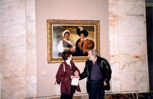 Au louvre, le 16 novembre 2002