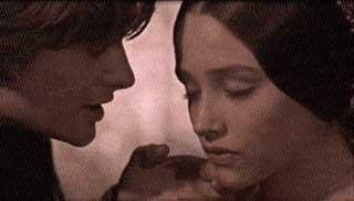 Leonard Whiting, Romeo, et Olivia Hussey, Juliette